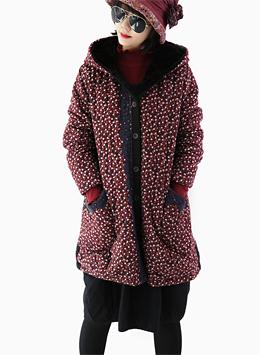 잔꽃 레이스 코트
